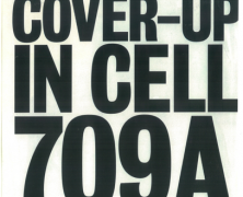 Cover Up in Cell 709A. Kenneth Trentadue case.